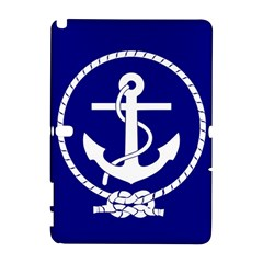 Anchor Flag Blue Background Galaxy Note 1 by Celenk
