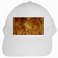 Map Of The World Old Historically White Cap by Celenk