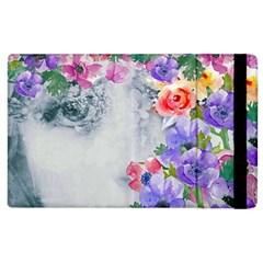 Flower Girl Apple Ipad 2 Flip Case by 8fugoso
