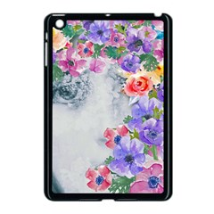 Flower Girl Apple Ipad Mini Case (black) by 8fugoso