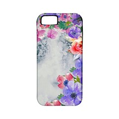 Flower Girl Apple Iphone 5 Classic Hardshell Case (pc+silicone) by 8fugoso