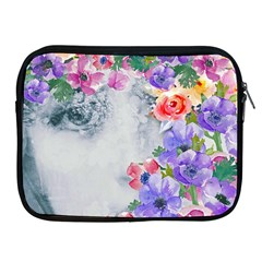 Flower Girl Apple Ipad 2/3/4 Zipper Cases by 8fugoso