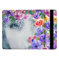 Flower Girl Samsung Galaxy Tab Pro 12 2  Flip Case by 8fugoso