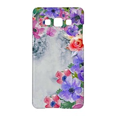 Flower Girl Samsung Galaxy A5 Hardshell Case  by 8fugoso