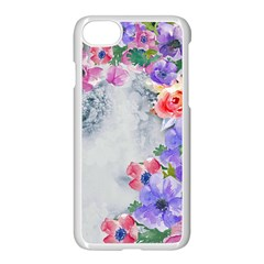 Flower Girl Apple Iphone 7 Seamless Case (white) by 8fugoso