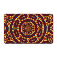 Geometric Tapestry Magnet (rectangular) by linceazul