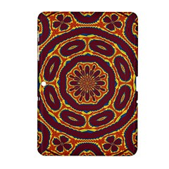 Geometric Tapestry Samsung Galaxy Tab 2 (10 1 ) P5100 Hardshell Case  by linceazul