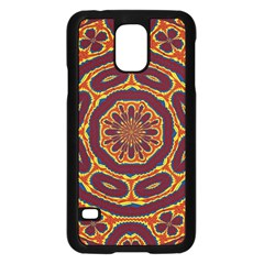 Geometric Tapestry Samsung Galaxy S5 Case (black) by linceazul