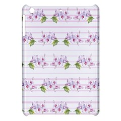 Floral Pattern Apple Ipad Mini Hardshell Case by SuperPatterns