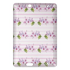 Floral Pattern Amazon Kindle Fire Hd (2013) Hardshell Case by SuperPatterns