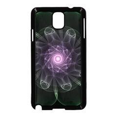 Mandala Fractal Light Light Fractal Samsung Galaxy Note 3 Neo Hardshell Case (black) by Celenk