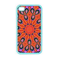Abstract Art Abstract Background Apple Iphone 4 Case (color) by Celenk