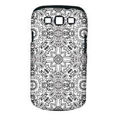 Mandala Pattern Line Art Samsung Galaxy S Iii Classic Hardshell Case (pc+silicone) by Celenk