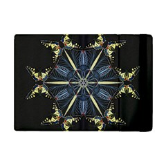 Mandala Butterfly Concentration Ipad Mini 2 Flip Cases by Celenk