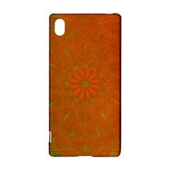 Background Paper Vintage Orange Sony Xperia Z3+ by Celenk
