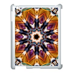 Kaleidoscope Pattern Kaleydograf Apple Ipad 3/4 Case (white) by Celenk