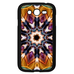 Kaleidoscope Pattern Kaleydograf Samsung Galaxy Grand Duos I9082 Case (black) by Celenk