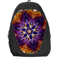 Kaleidoscope Pattern Kaleydograf Backpack Bag by Celenk