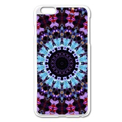 Kaleidoscope Shape Abstract Design Apple Iphone 6 Plus/6s Plus Enamel White Case by Celenk