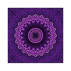 Mandala Purple Mandalas Balance Acrylic Tangram Puzzle (6  X 6 ) by Celenk