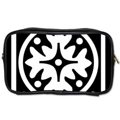 Mandala Pattern Mystical Toiletries Bags 2 Side by Celenk