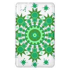 Mandala Geometric Pattern Shapes Samsung Galaxy Tab Pro 8 4 Hardshell Case by Celenk