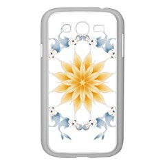 Mandala Mermaid Lake Rose Swimmers Samsung Galaxy Grand Duos I9082 Case (white) by Celenk