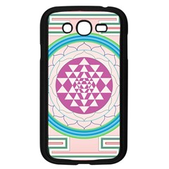 Mandala Design Arts Indian Samsung Galaxy Grand Duos I9082 Case (black) by Celenk