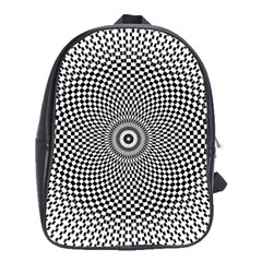 Kaleidoscope Pattern Kaleydograf School Bag (xl) by Celenk