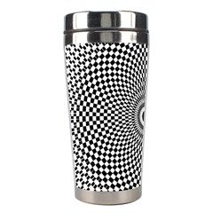 Kaleidoscope Pattern Kaleydograf Stainless Steel Travel Tumblers by Celenk