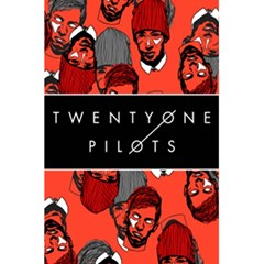 Twenty One Pilots Pattern 5 5  X 8 5  Notebooks by Onesevenart