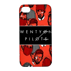Twenty One Pilots Pattern Apple Iphone 4/4s Hardshell Case With Stand by Onesevenart