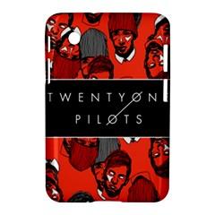 Twenty One Pilots Pattern Samsung Galaxy Tab 2 (7 ) P3100 Hardshell Case  by Onesevenart