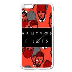 Twenty One Pilots Pattern Apple Iphone 6 Plus/6s Plus Enamel White Case by Onesevenart