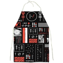 Twenty One Pilots Poster Full Print Aprons by Onesevenart