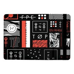 Twenty One Pilots Poster Samsung Galaxy Tab Pro 10 1  Flip Case by Onesevenart