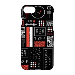 Twenty One Pilots Poster Apple Iphone 7 Hardshell Case by Onesevenart