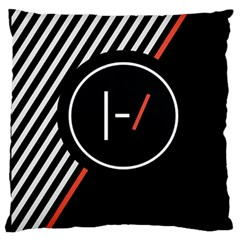 Twenty One Pilots Poster Large Cushion Case (one Side) by Onesevenart