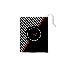 Twenty One Pilots Poster Drawstring Pouches (xs)  by Onesevenart