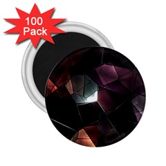 Crystals Background Design Luxury 2 25  Magnets (100 Pack)  by Celenk