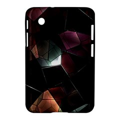 Crystals Background Design Luxury Samsung Galaxy Tab 2 (7 ) P3100 Hardshell Case  by Celenk