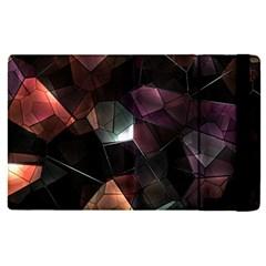 Crystals Background Design Luxury Apple Ipad Pro 12 9   Flip Case by Celenk