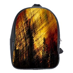 Refinery Oil Refinery Grunge Bloody School Bag (xl) by Celenk