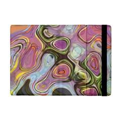 Retro Background Colorful Hippie Ipad Mini 2 Flip Cases by Celenk