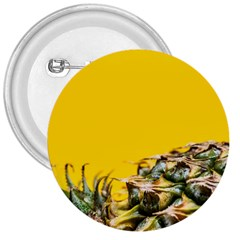 Pineapple Raw Sweet Tropical Food 3  Buttons by Celenk