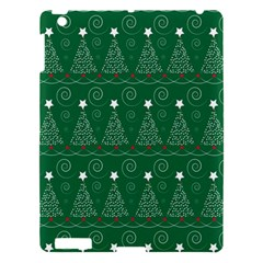 Christmas Tree Holiday Star Apple Ipad 3/4 Hardshell Case by Celenk