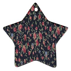 Pattern Flowers Pattern Flowers Ornament (star) by Celenk