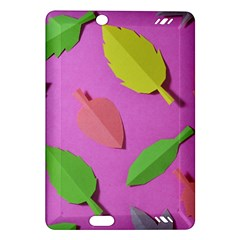 Leaves Autumn Nature Trees Amazon Kindle Fire Hd (2013) Hardshell Case by Celenk