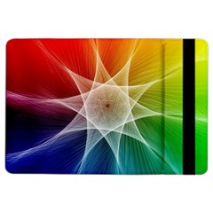 Abstract Star Pattern Structure Ipad Air 2 Flip by Celenk