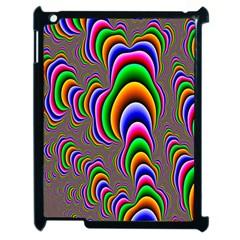 Fractal Background Pattern Color Apple Ipad 2 Case (black) by Celenk
